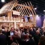 Houtpaviljoen houtborrel BouwBeurs 2015