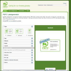 PEFC Labelgenerator