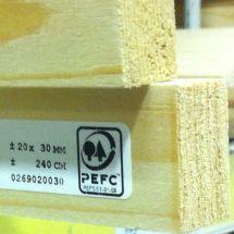Bouwmaat, PEFC gecertificeerd hout