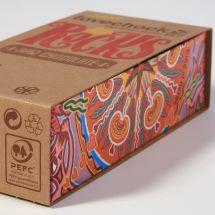 Lovechock Rocks, PEFC gecertificeerde verpakking met logo