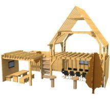 het houtpaviljoen BouwBeurs Hal 10, stand E011-E017_klein