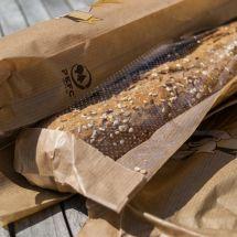 PEFC gecertificeerd broodverpakking van de Lidl