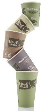 PEFC-gecertificeerde BioWare paper cups