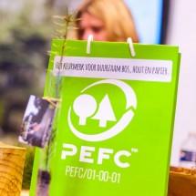 PEFC gecertificeerde papieren tas
