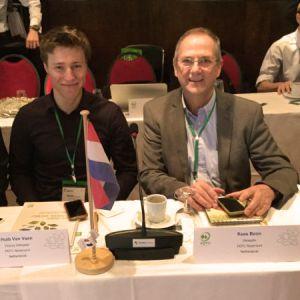 PEFC Nederland, voorzitter Kees Boon, coordinator Huib van Veen