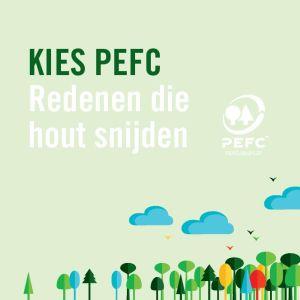 PEFC brochure: redenen die hout snijden