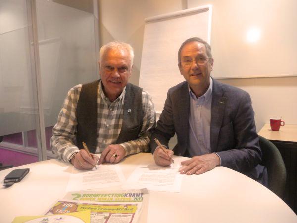 Boomfeestdag - PEFC, ondertekening partnerschap