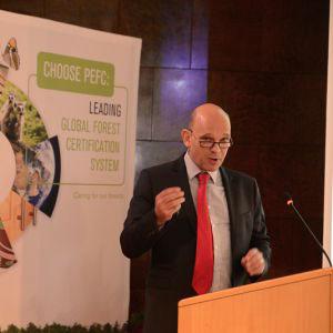 Ben Gunneberg CEO PEFC International