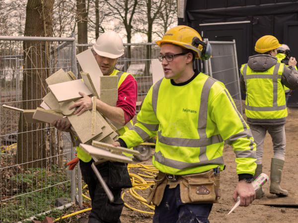 Heijmans PEFC gecertificeerd hout hockeyclub Den Bosch