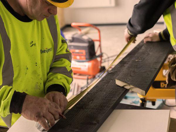 Heijmans PEFC hout hockeyclub Den Bosch