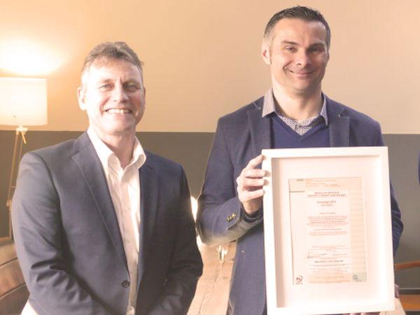 IEB - PEFC Certificaat uitreiking