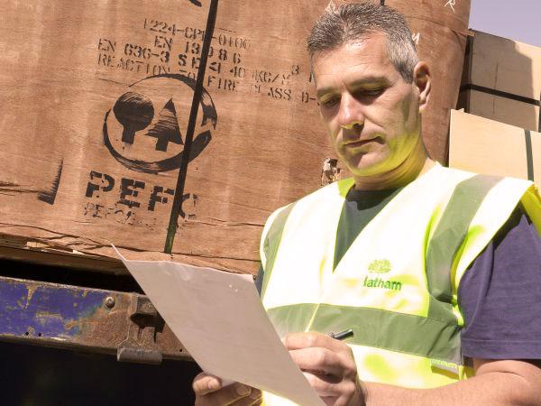 PEFC gecertificeerd plaatmateriaal