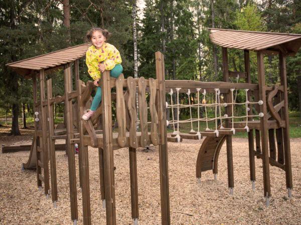 YALP speeltoestellen, PEFC gecertificeerd hout