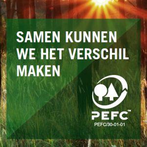 PEFC info visitekaartje