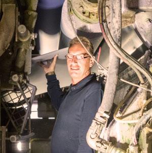 Crown Van Gelder, Papiermaker Ronald - Hout met Hartstocht