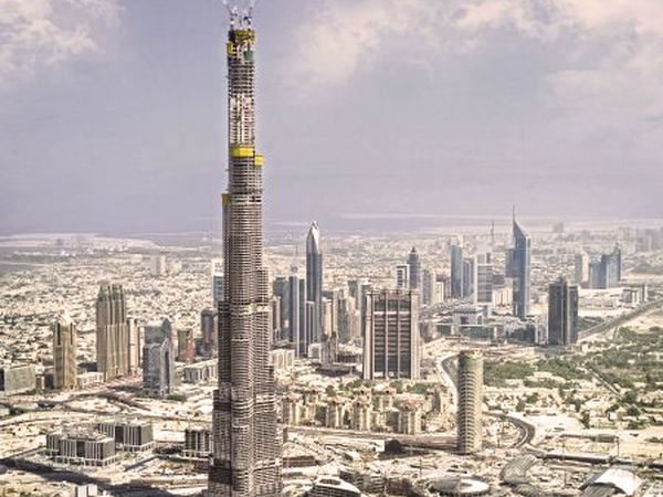 de Kingdom Tower in Saoedi-Arabië
