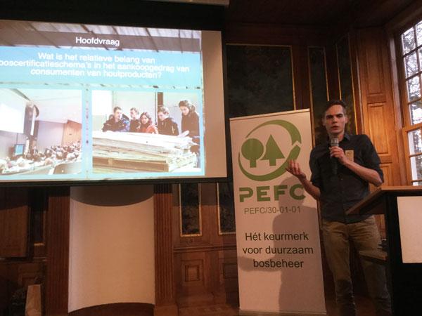 PEFC Jaarbijeenkomst 2016 - Merlijn Schuurbiers Wageningen Universiteit