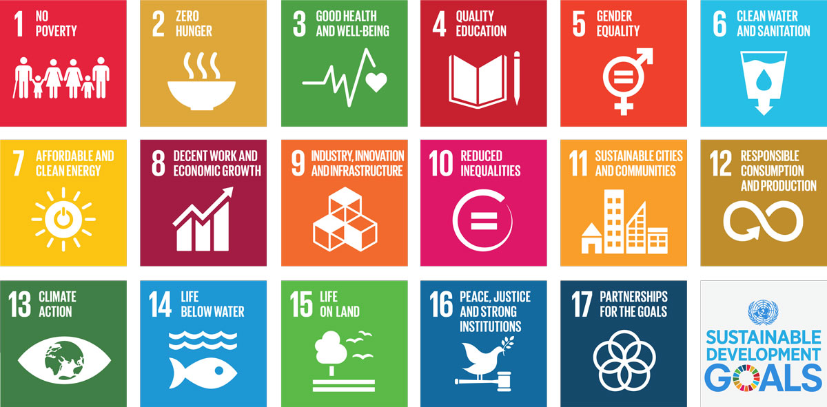 Sustainable Development Goals (SDG's) poster