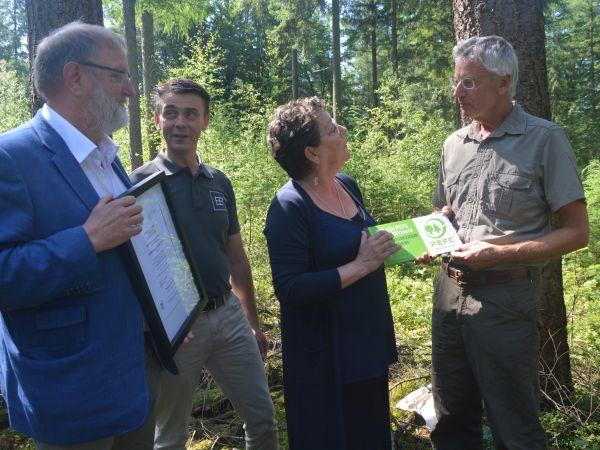 Gemeente Epe, PEFC gecertificeerd bosbeheer