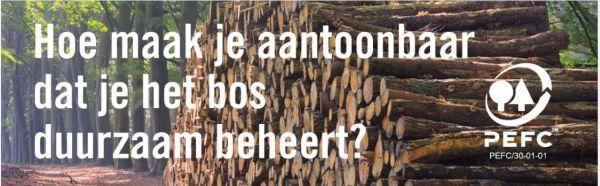 PEFC duurzaam bosbeheer - infographic voor boseigenaren